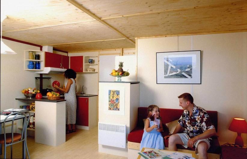 Location de vacances - Chalet à Rieupeyroux - Intérieur chalet
