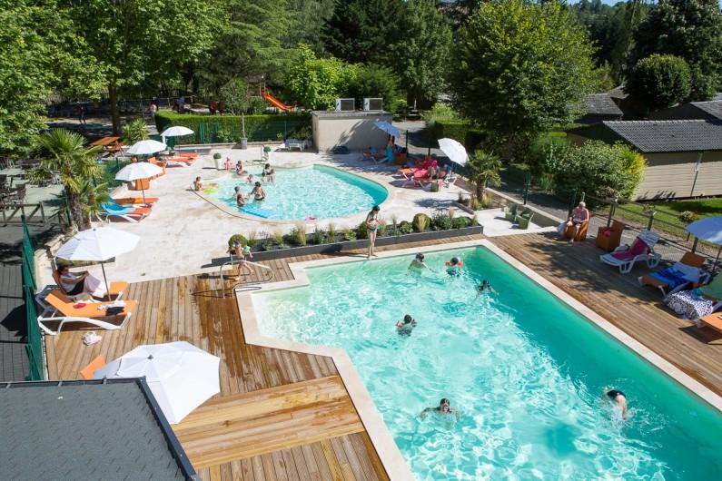 Location de vacances - Chalet à Rieupeyroux - La piscine