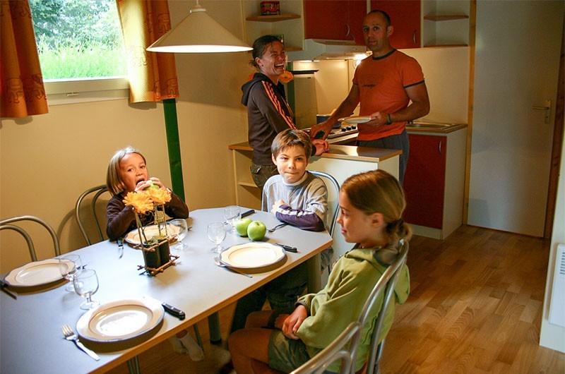 Location de vacances - Chalet à Rieupeyroux - Un espace confortable pour une famille
