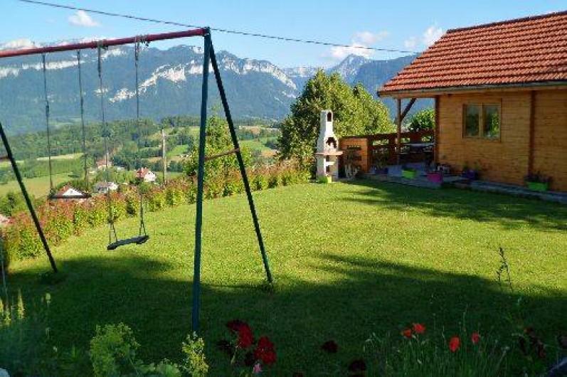 Location de vacances - Chalet à Miribel-les-Échelles