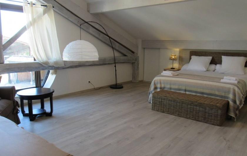 Location de vacances - Gîte à Lougratte - une des 4 chambres du gîte MacLeo