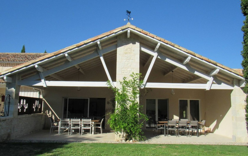 Location de vacances - Gîte à Lougratte - Terrasses Gîte Fakir et Gîte MacLéo