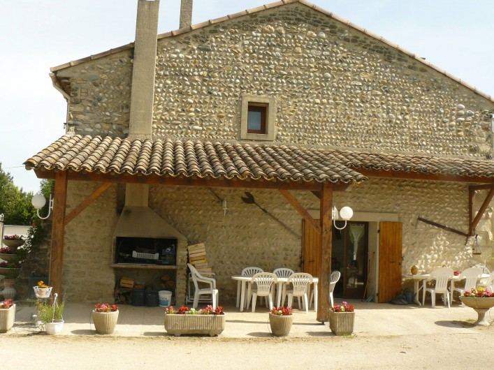 Location de vacances - Chambre d'hôtes à Étoile-sur-Rhône - maison de caractère