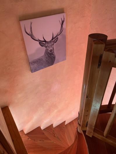 Location de vacances - Appartement à Les Arcs - Montée d'escalier