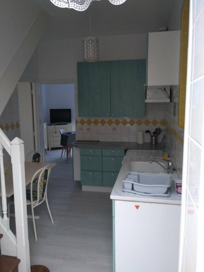 Location de vacances - Maison - Villa à Mers-les-Bains - CUISINE