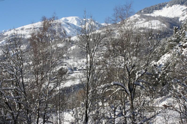 Location de vacances - Appartement à Séez - vue des chambres hiver