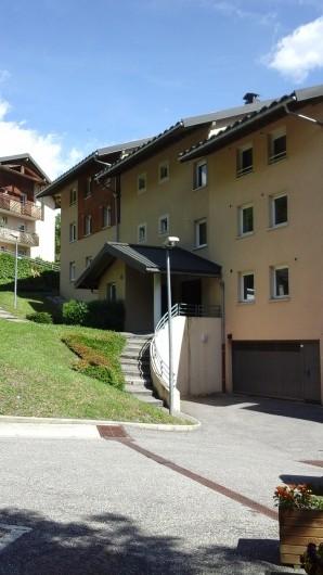 Location de vacances - Appartement à Séez - façade nord de l'immeuble