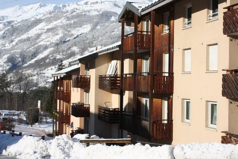 Location de vacances - Appartement à Séez - façade sud