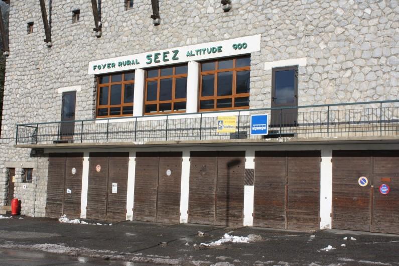 Location de vacances - Appartement à Séez - départ de la navette gratuite pour les stations de ski (200m)