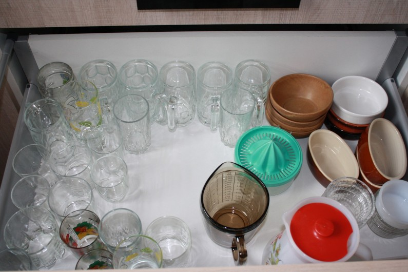 Location de vacances - Appartement à Séez - nombreuses vaisselles