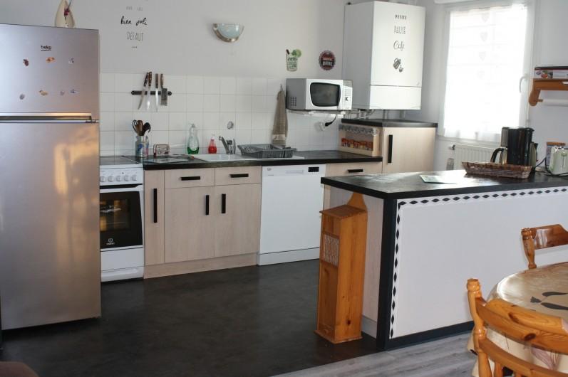 Location de vacances - Appartement à Séez - cuisine