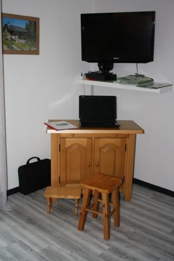 Location de vacances - Appartement à Séez - coin bureau