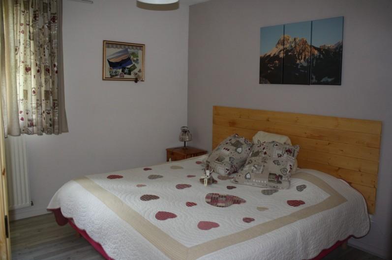 Location de vacances - Appartement à Séez - chambre : 2 lits de 90cm ou 1 lit de 180 cm à la demande