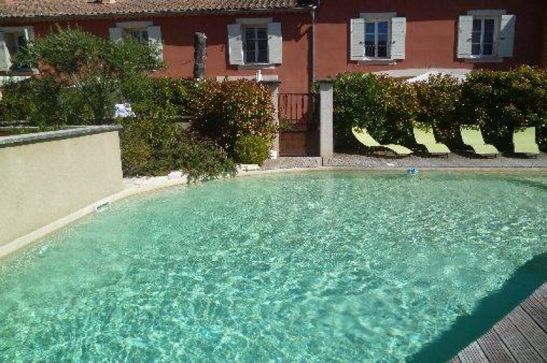 Location de vacances - Appartement à Châteauneuf-de-Gadagne