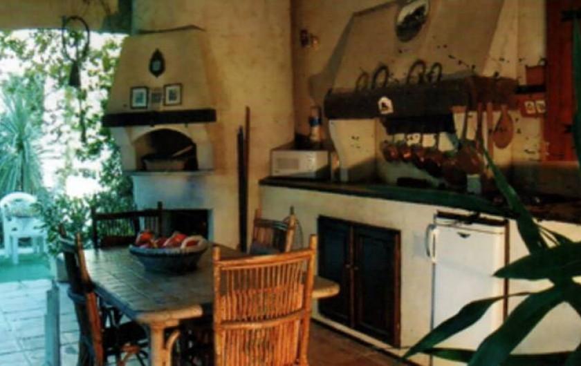 Location de vacances - Chambre d'hôtes à Saint-Paul-de-Vence - Chambre Les Cycas