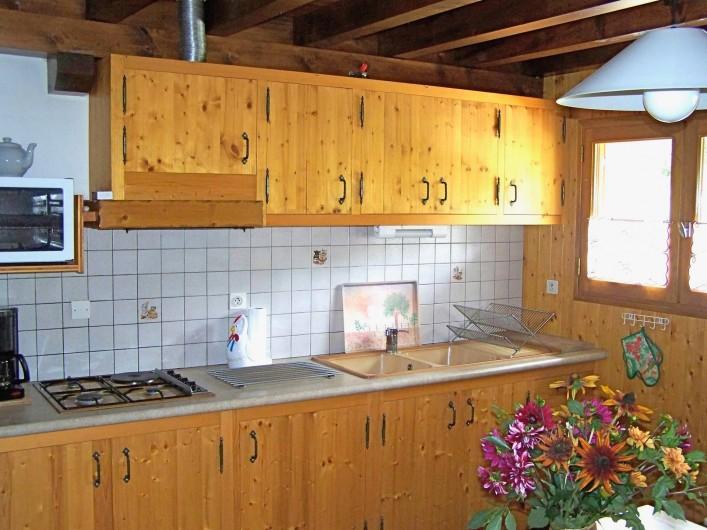 Location de vacances - Gîte à Saint-Pierre-de-Chartreuse - Cuisine