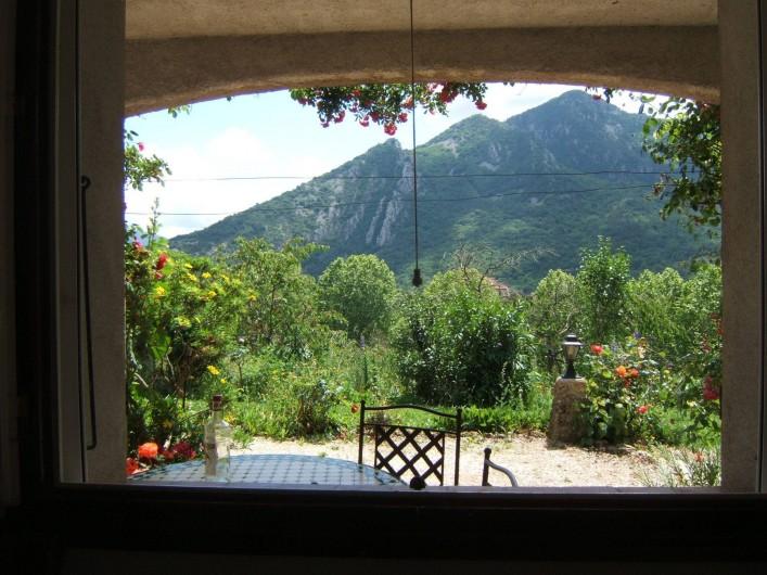 Location de vacances - Appartement à Sospel - Vue de la terrasse