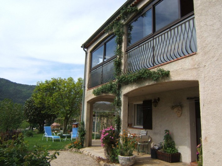 Location de vacances - Appartement à Sospel - Côté de la maison