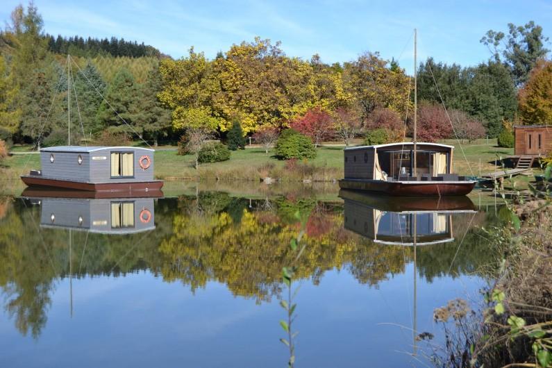 Location de vacances - Bateau à Chamberet - Les toues cabanées