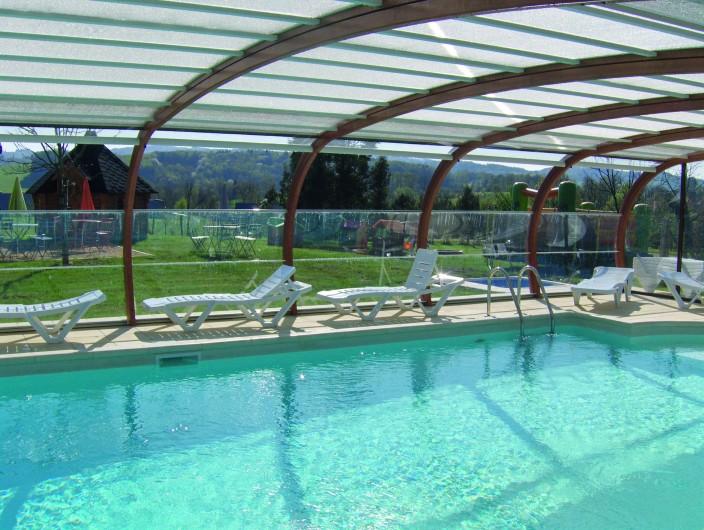 Location de vacances - Bateau à Chamberet - Piscine