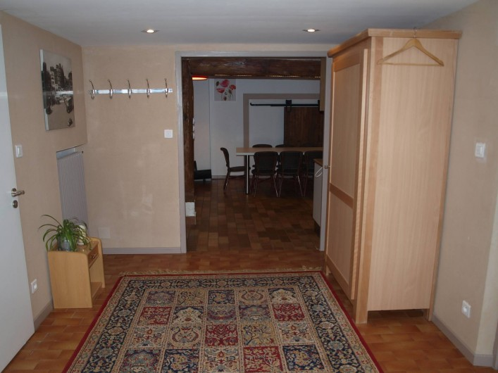 Location de vacances - Gîte à Corcieux - L'entrée de la maison