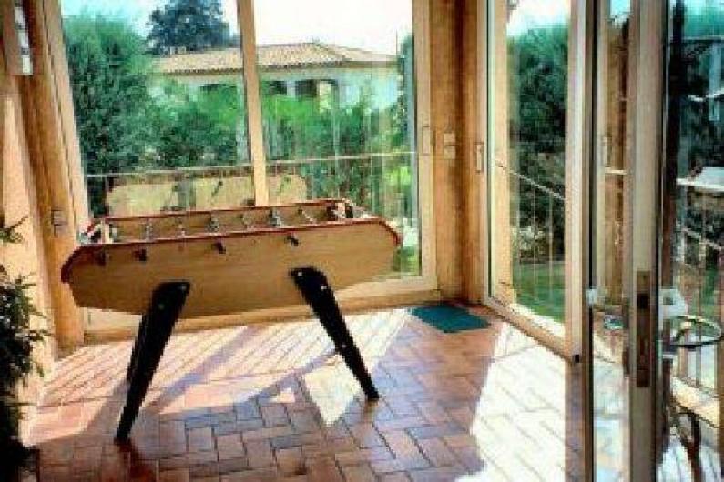 Location de vacances - Villa à Le Plan-de-la-Tour - BABY FOOT de tournoi