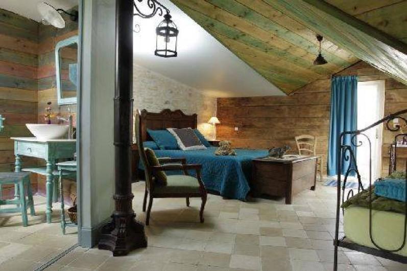 Location de vacances - Chambre d'hôtes à Marchais - chambre 2 pers et 1 enfant - 10 ans