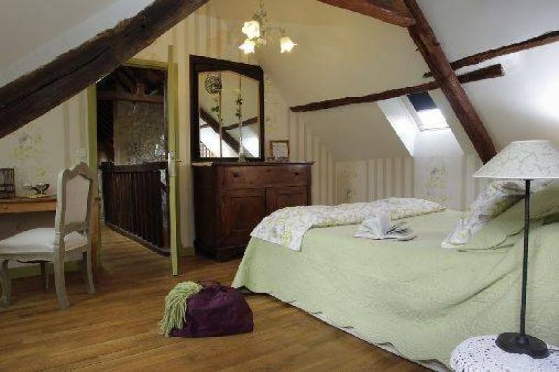 Location de vacances - Chambre d'hôtes à Marchais - chambre 2 pers et 2 enfants