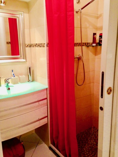Location de vacances - Appartement à Monaco-Ville - salle d'eau grande douche