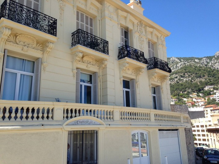 Location de vacances - Appartement à Monaco-Ville - la maison , les 2 appartements du 1er étage et le studio au Rez de chaussée