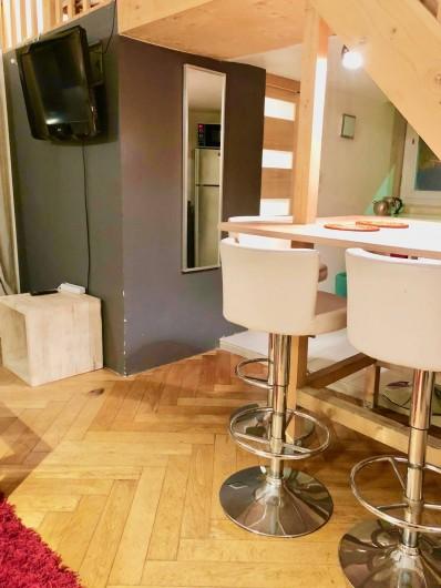 Location de vacances - Appartement à Monaco-Ville - côté repas