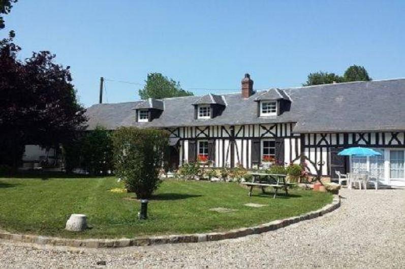 Location de vacances - Gîte à Saint-Sauveur-d'Émalleville - La maison