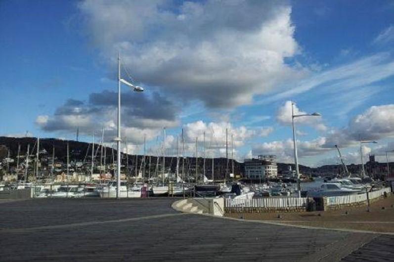 Location de vacances - Gîte à Saint-Sauveur-d'Émalleville - Le port de Fécamp