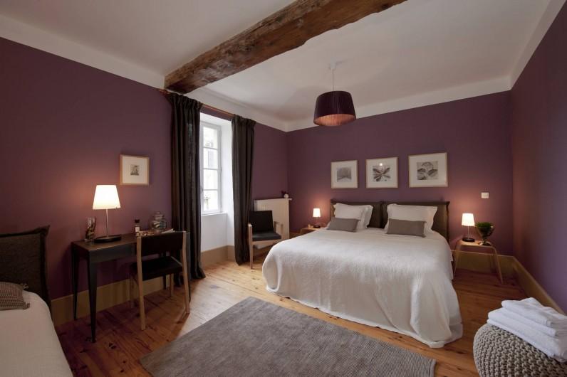 Location de vacances - Gîte à Mirabel-et-Blacons - Chambre du Gîte