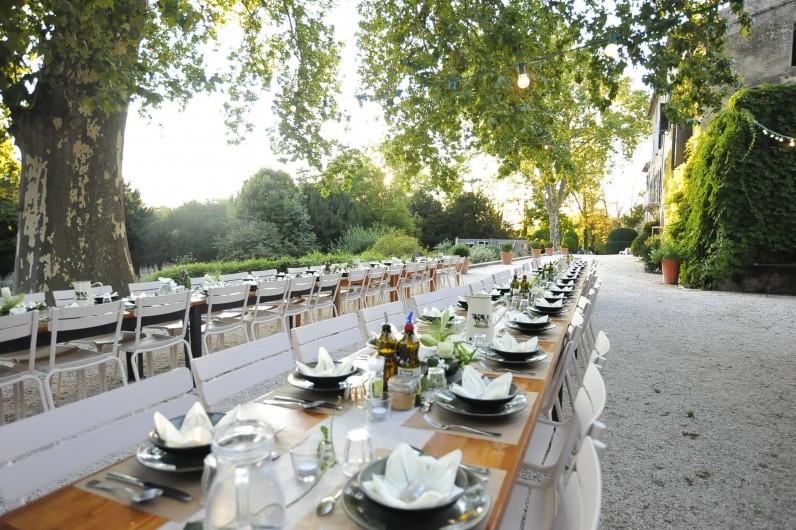 Location de vacances - Gîte à Mirabel-et-Blacons - Mariage