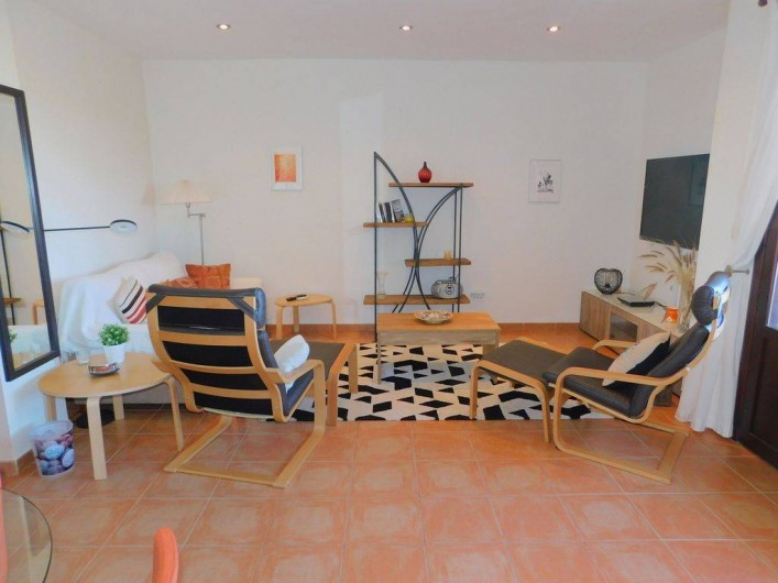 Location de vacances - Appartement à Vera - Salon