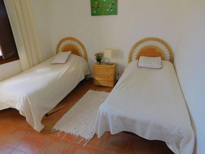 Location de vacances - Appartement à Vera - chambre avec 2 lits de 90X200