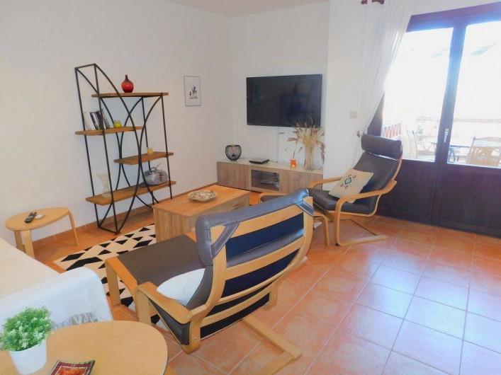 Location de vacances - Appartement à Vera - grande TV