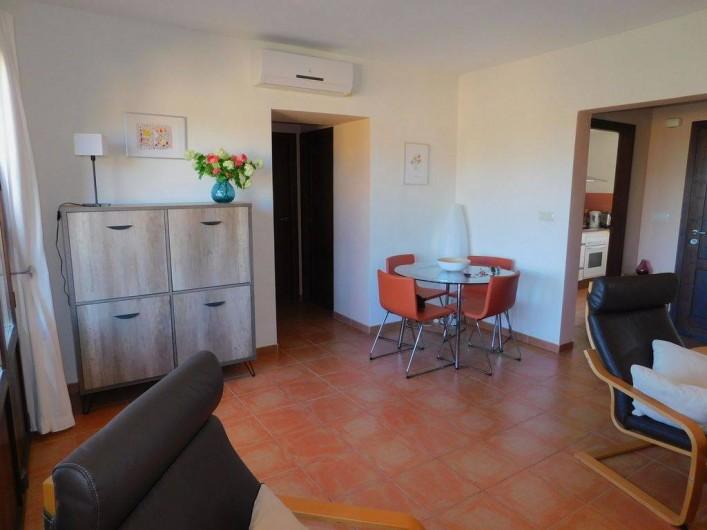 Location de vacances - Appartement à Vera - Salon + coin repas