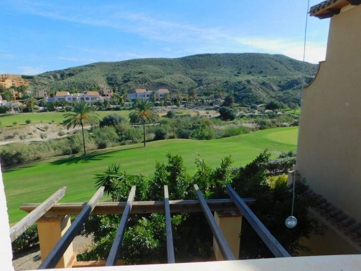 Location de vacances - Appartement à Vera - Vue latérale de la terrasse