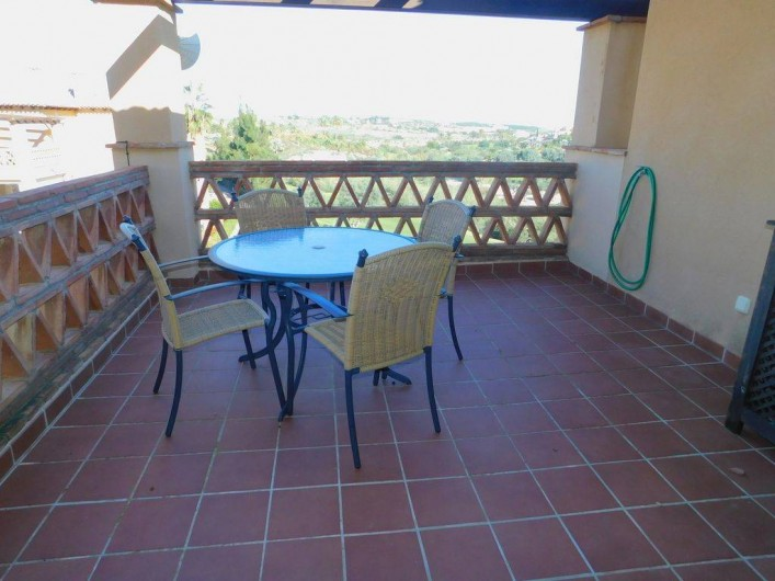Location de vacances - Appartement à Vera - terrasse