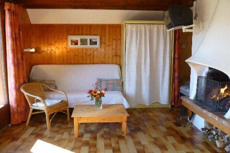 Location de vacances - Chalet à Saint-Hilaire - Coin salon
