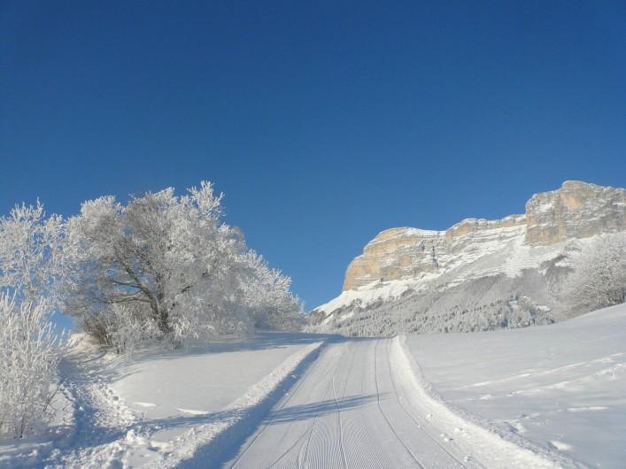 Location de vacances - Chalet à Saint-Hilaire - piste de ski de fond