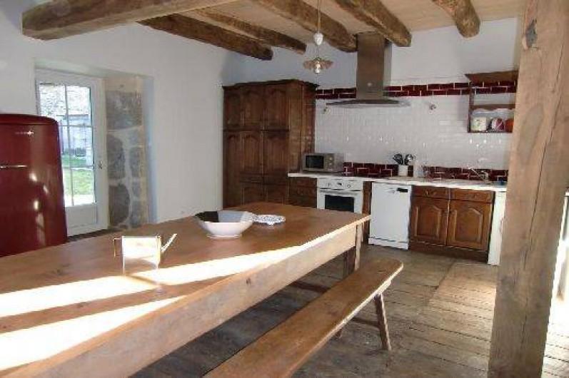 Location de vacances - Maison - Villa à Roumegoux - Cuisine