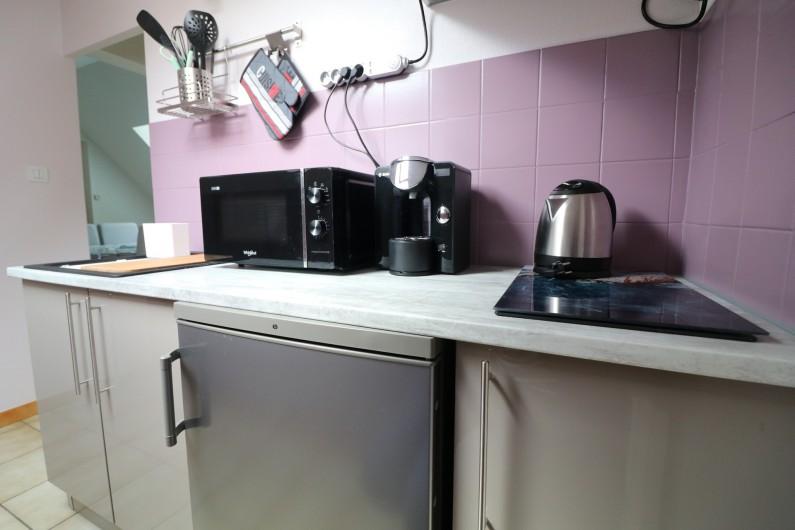 Location de vacances - Appartement à Nazelles-Négron - Cuisine