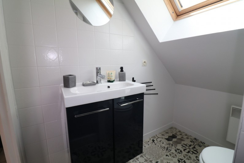 Location de vacances - Appartement à Nazelles-Négron - Salle de bain