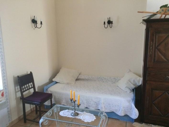Location de vacances - Appartement à Manosque - Simple couchage du séjour