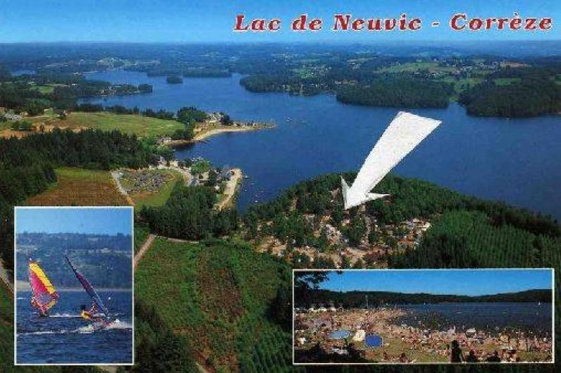 Location de vacances - Camping à Neuvic