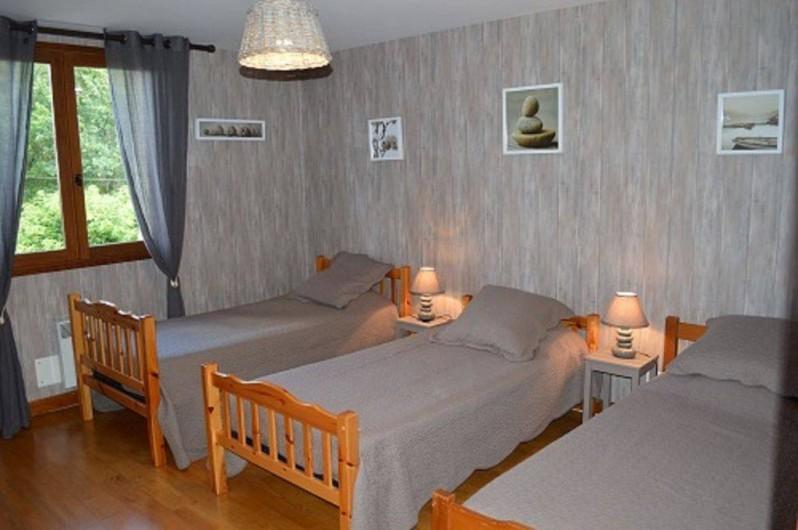 Location de vacances - Maison - Villa à Mauzac-et-Grand-Castang - chambre enfants 1er étage