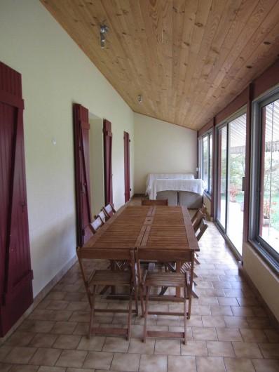 Location de vacances - Maison - Villa à Mauzac-et-Grand-Castang - véranda
